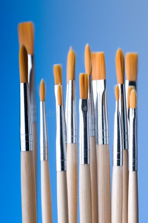New Brushes royalty free stock photos