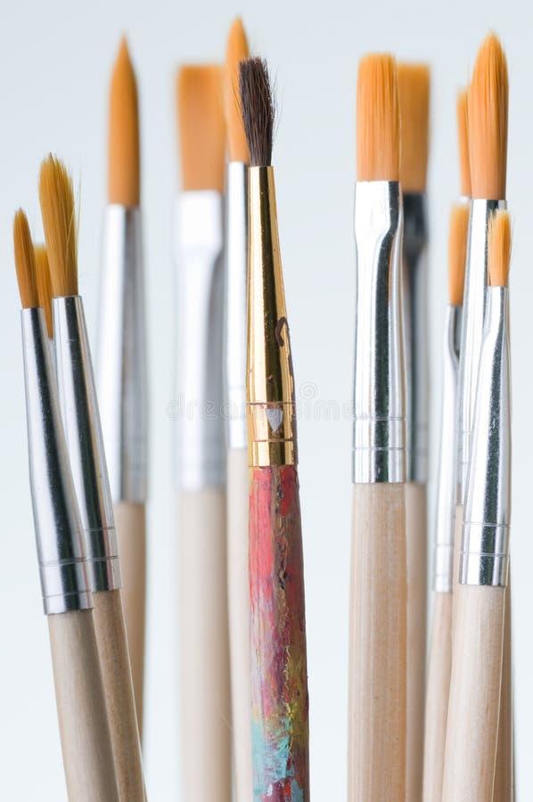New Brushes stock image