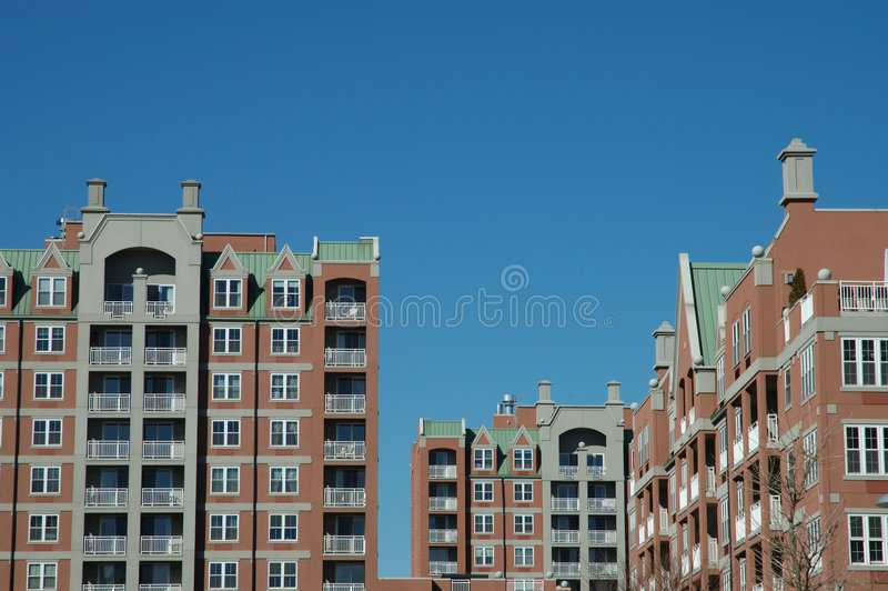 New buildings stock image