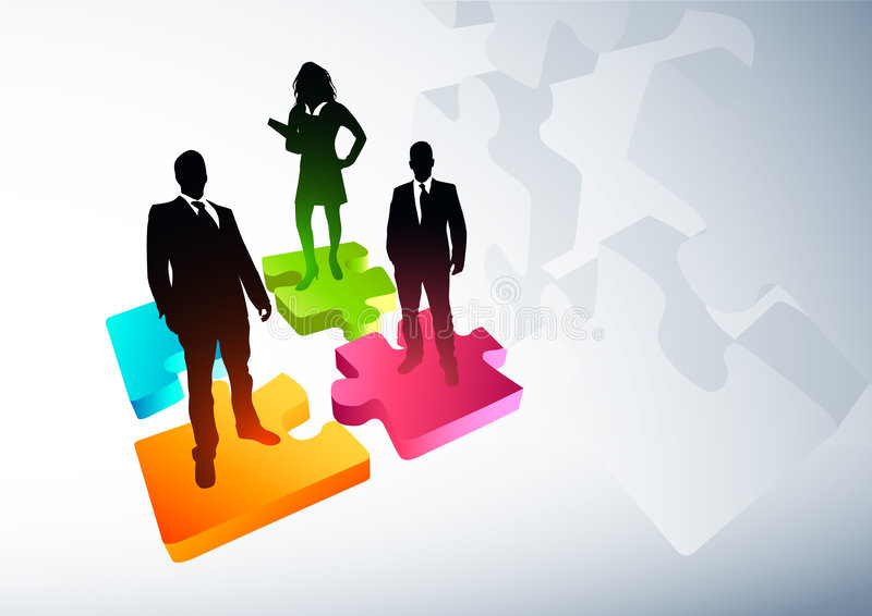 New Business Strategies royalty free illustration