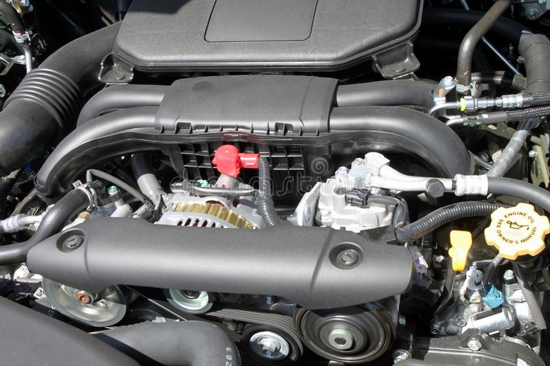 New car engine royalty free stock images