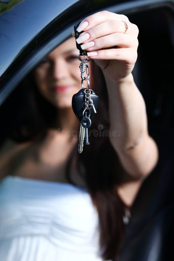New Car Keys Royalty Free Stock Images