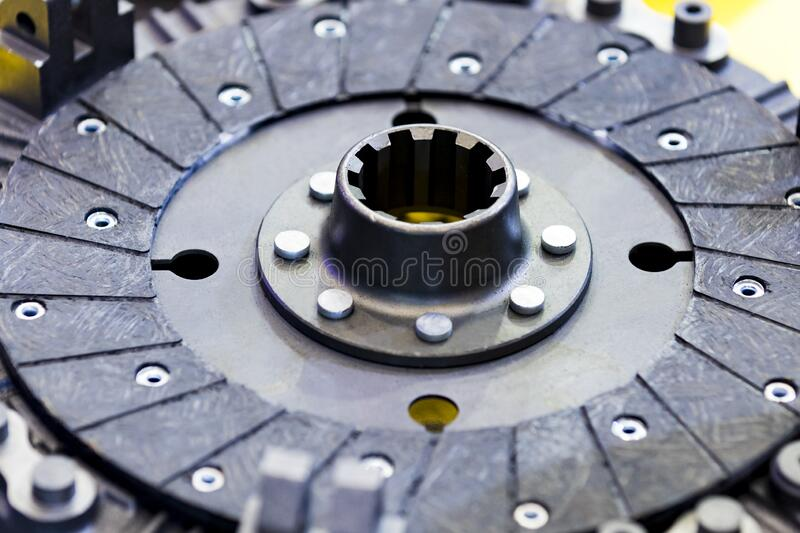 New car parts made of metal royalty free stock images