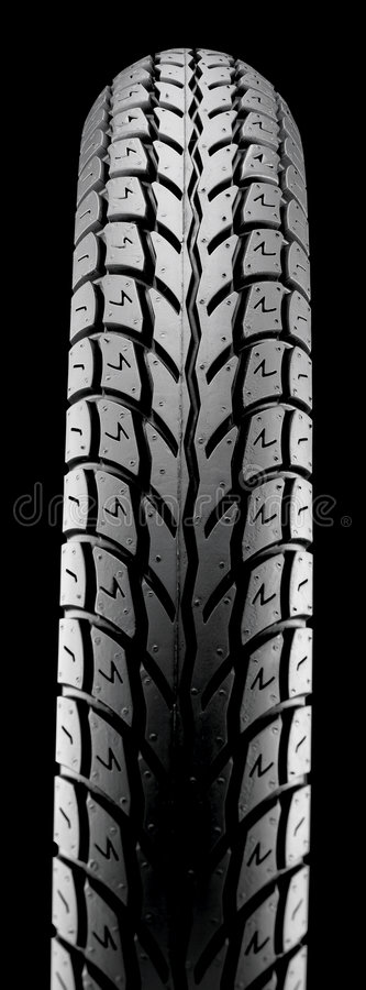 New car tire close up stock images