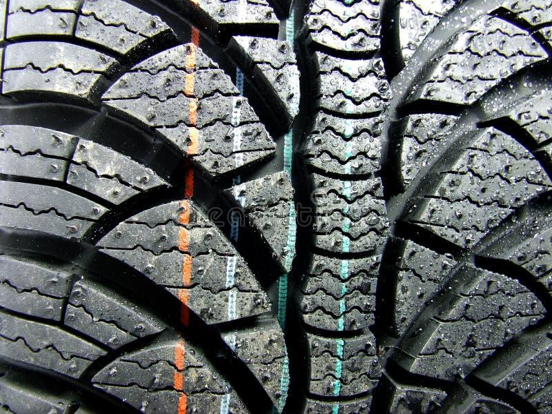 New Car Tyre Stock Photos