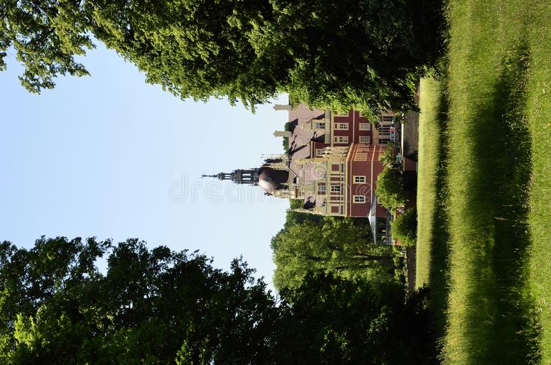 Download New castle in Bad Muskau stock photo. Image of green - 25071924