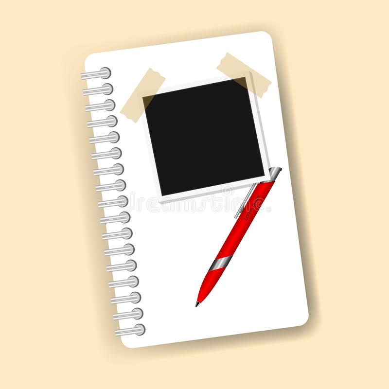 New Checklist flat icon. Document with ticks checkmarks. Checklist and pen. Application form, complete tasks, to-do list, survey stock illustration