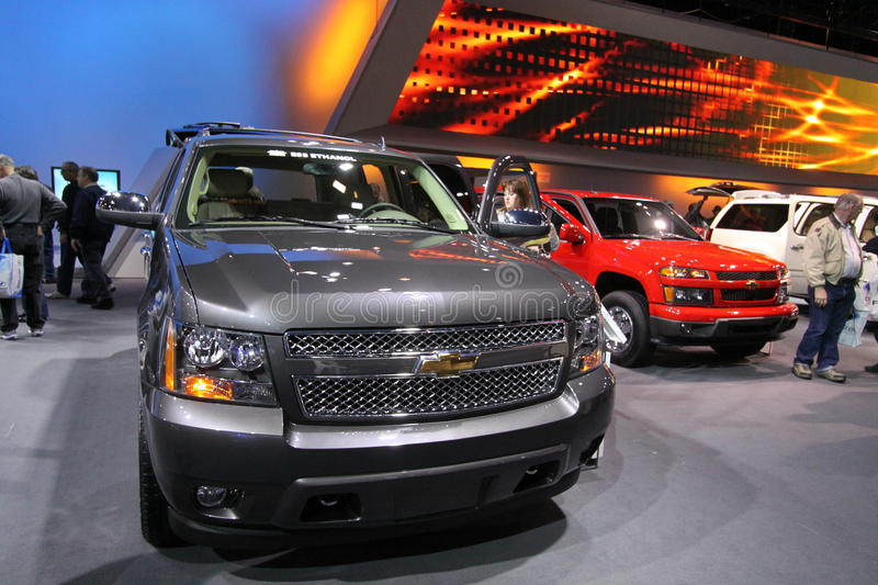 Download New Chevrolet Tahoe 2011 editorial stock image. Image of vehicle - 18482299