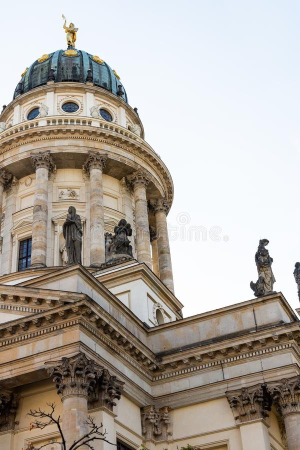 The New Church in Berlin stock photo