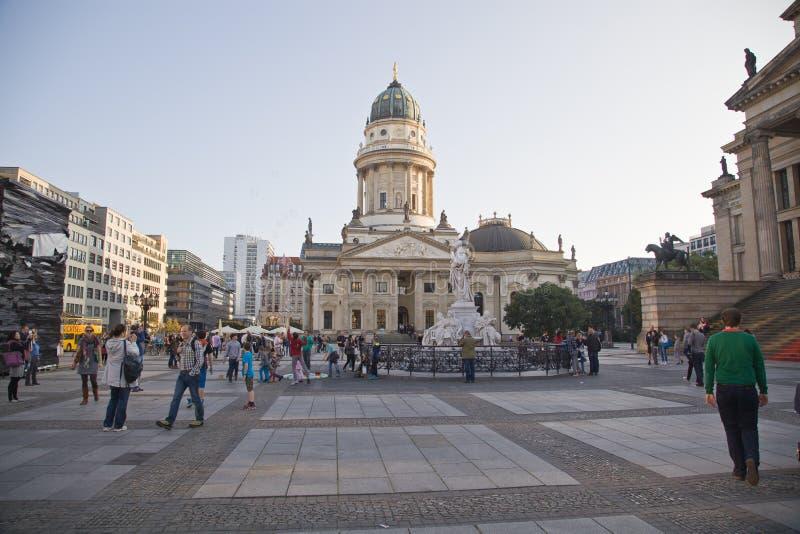 New Church (Deutscher Dom), Berlin stock image