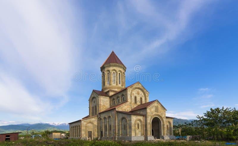 New Church near the kobuleti stock photography