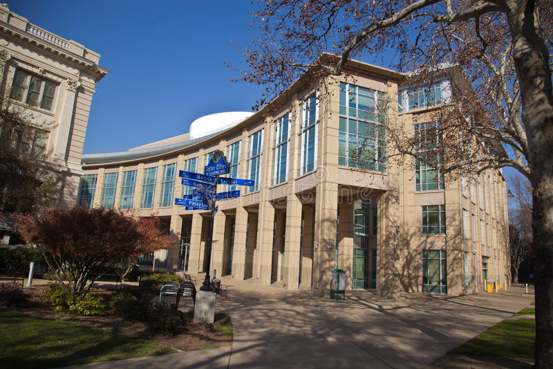New City Hall in Sacramento royalty free stock image