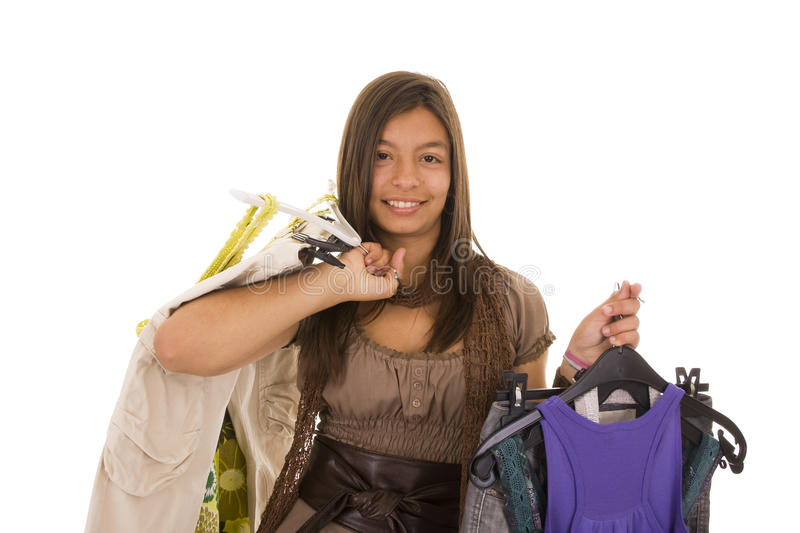 Download New clothes stock photo. Image of clothing, beauty, pretty - 11183636
