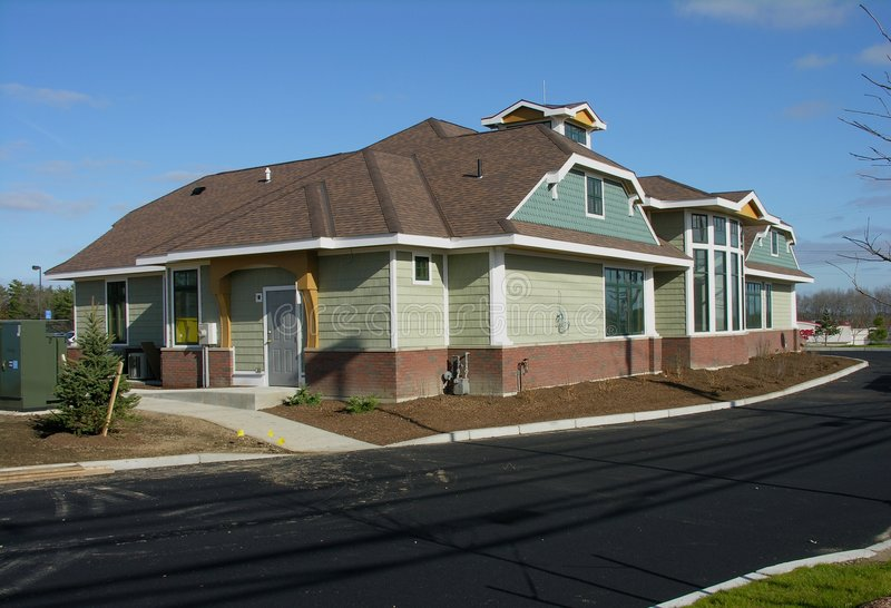 Download New Commercial Building. Stock Photography - Image: 1701162