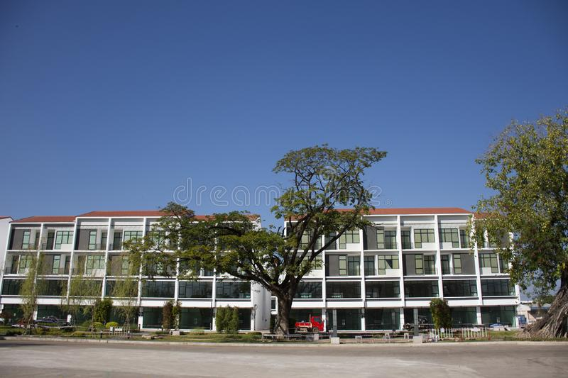 New commercial building for sale at Udonthani city in Udon Thani, Thailand stock photos