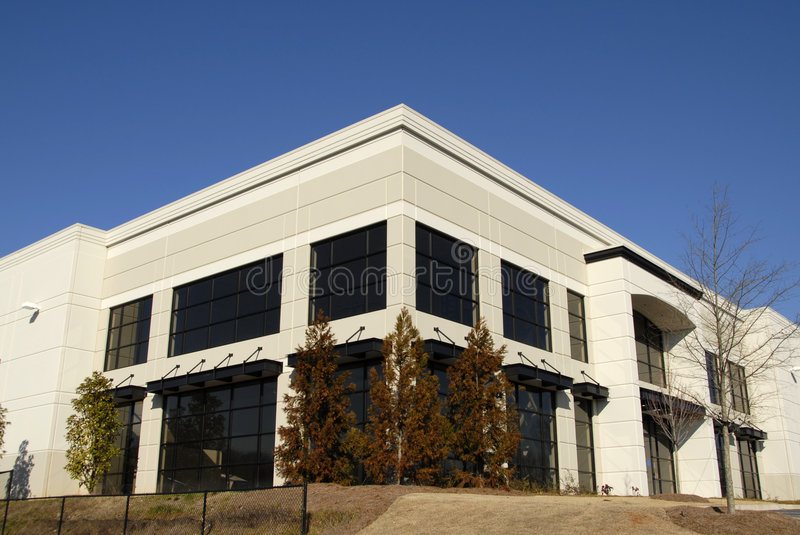New Commercial Office Building royalty free stock photos