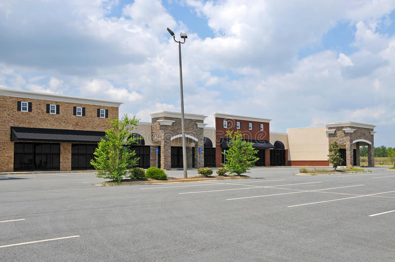 New Commercial Property for Lease or Sale. New Commercial, Retail and Office Space available for sale or lease royalty free stock images