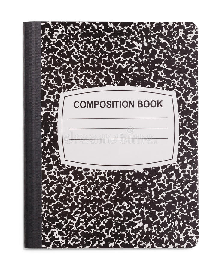 Free New Composition Book Stock Photography - 98048112