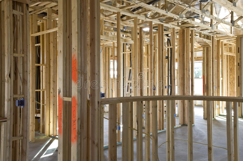 Download New Construction Of Framing Interior Stock Photo - Image: 11740270