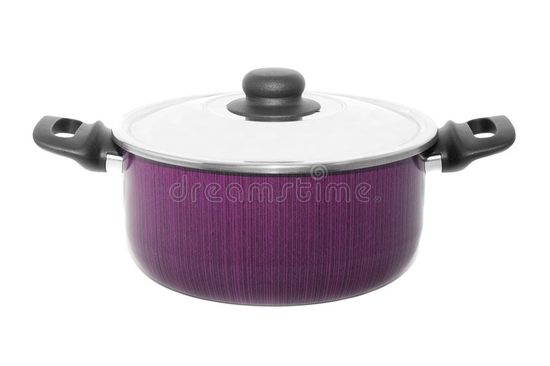 New cooker pan isolated royalty free stock image