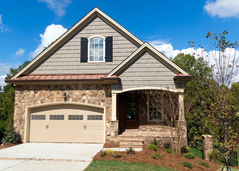Download New Cottage Home Stock Image - Image: 34231671