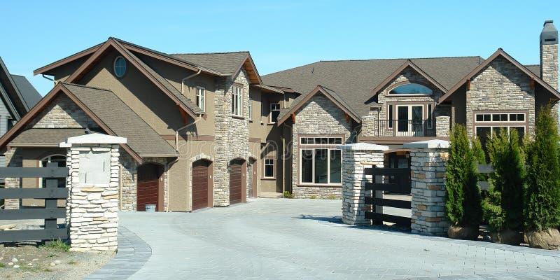 Luxury Home Exterior stock photos