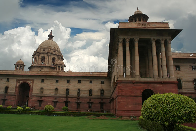 New Delhi, India. Memorial building in New Delhi, India stock photos