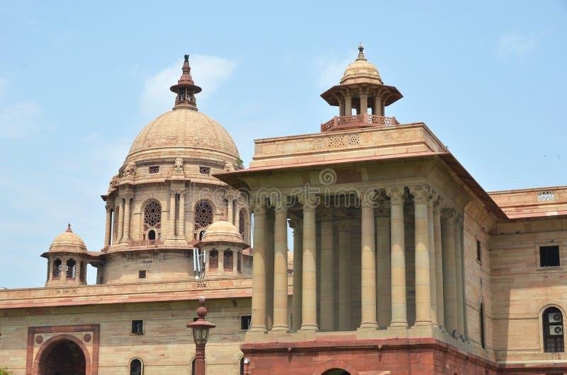New Delhi, India. Indian Government buildings. Raj Path, New Delhi, India stock photo