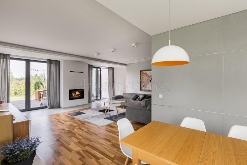 New design home interior royalty free stock photos