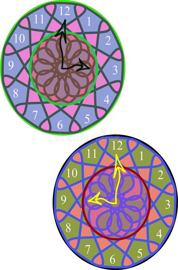 New design wall clock royalty free stock image