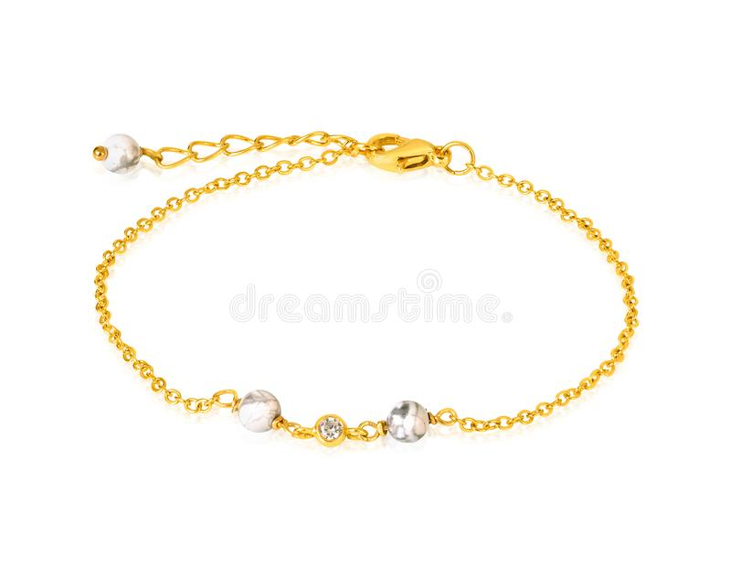 New Designer Chain Braslate For Women/girls Stock Image - Image of ...