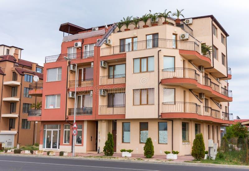 New Development in Bulgarian Ravda stock image