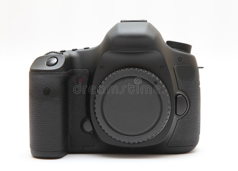 New digital camera front stock photos
