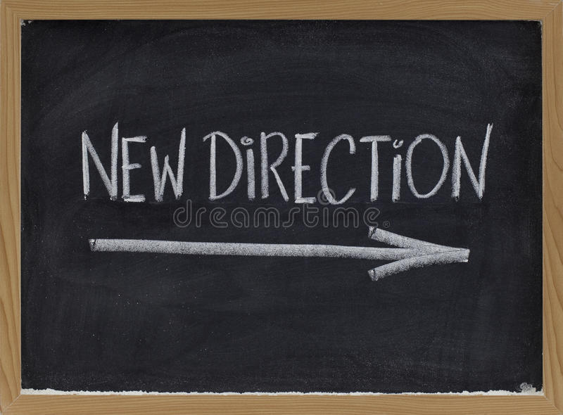 New Direction Royalty Free Stock Photography
