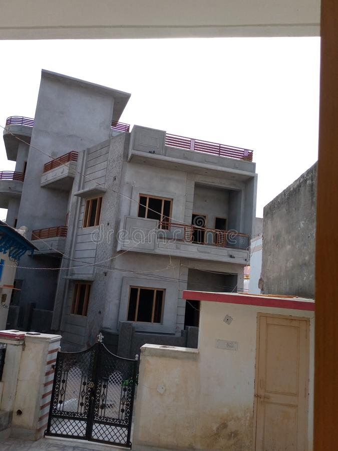 New disine  in homes at Rajasthan marwad royalty free stock photo