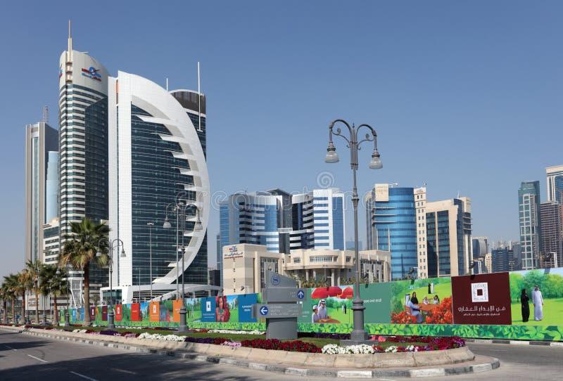 New Doha downtown district, Qatar