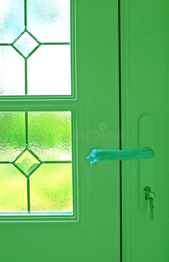 New Door, New Home stock images