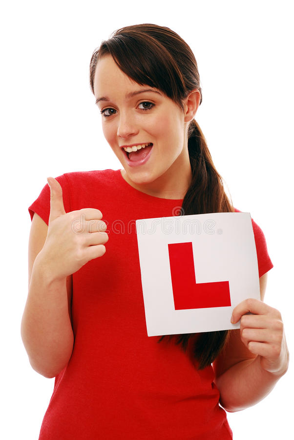Download New driver stock image. Image of driving, proud, passed - 12095351