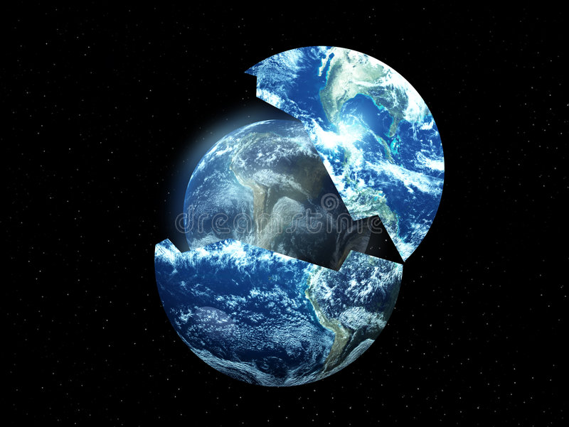 New Earth From Old 2 royalty free illustration