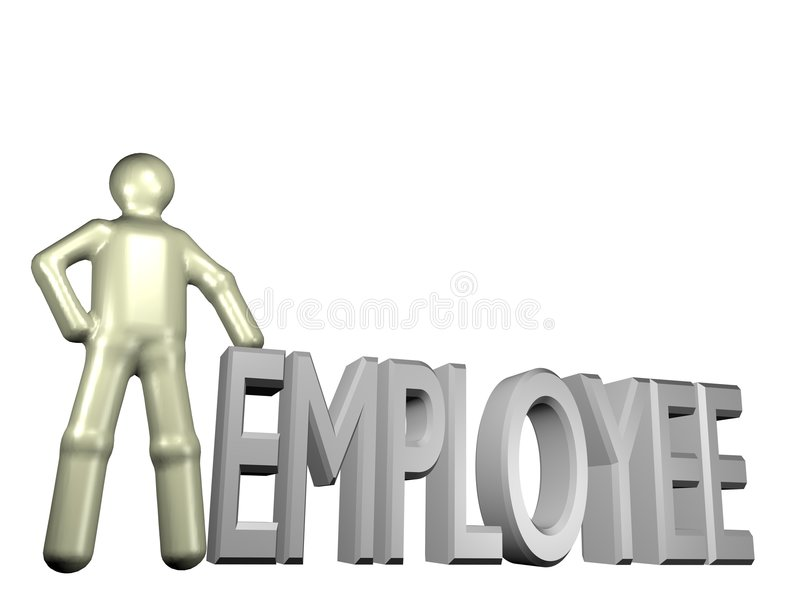 New employee vector illustration