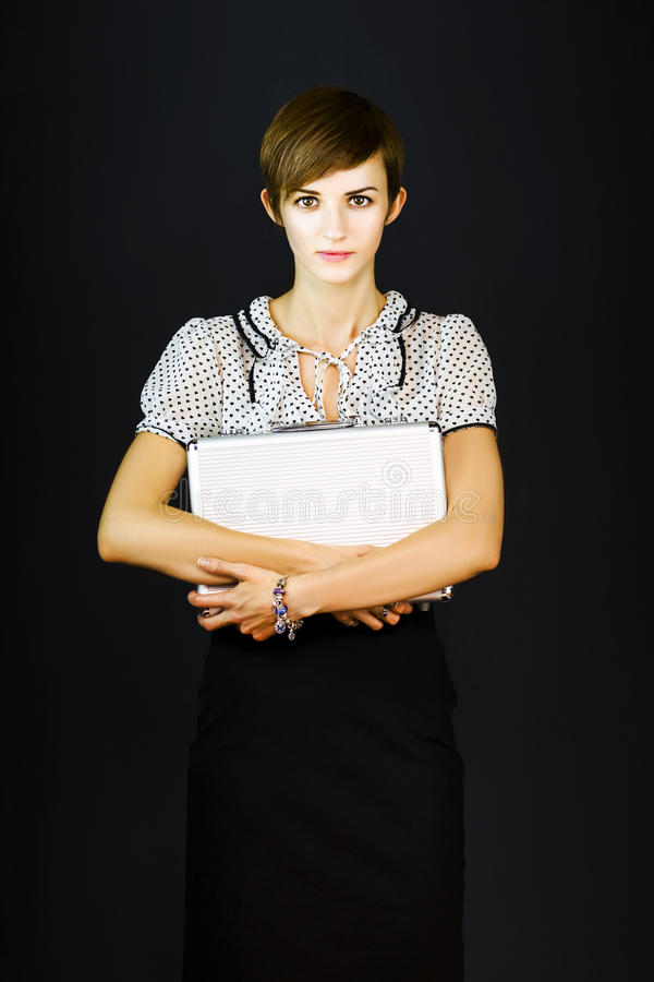 Download New Employee On First Day At Work Stock Photo - Image of elegant, attractive: 24043380