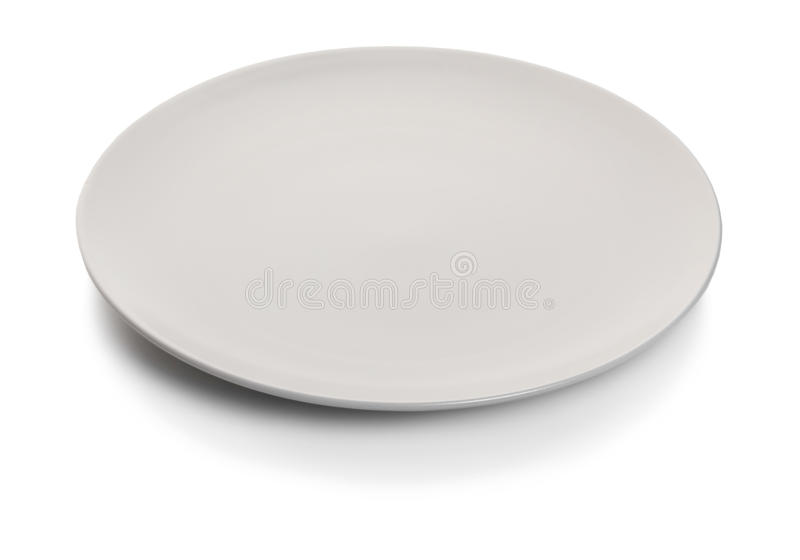 New empty plate royalty free stock photos