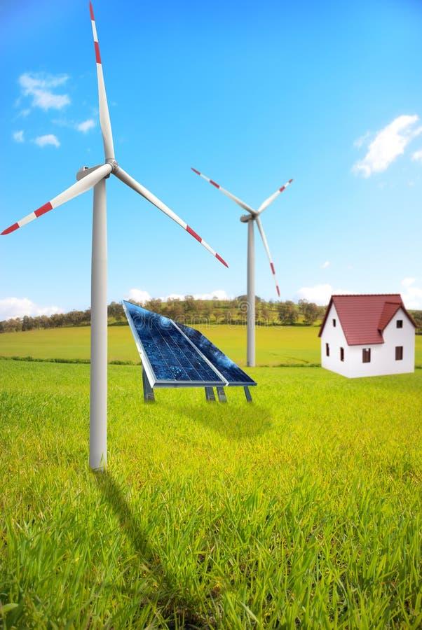 New Energy Landscape Stock Photography