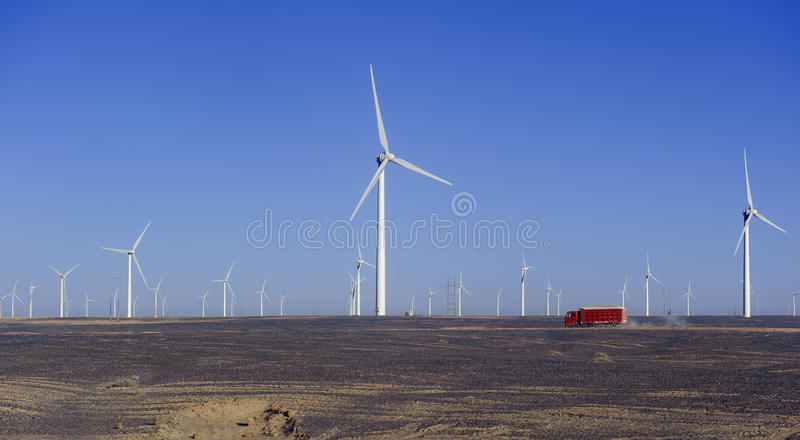 Download New Energy Source Of Wind Power Windmills Stock Image - Image: 27277481