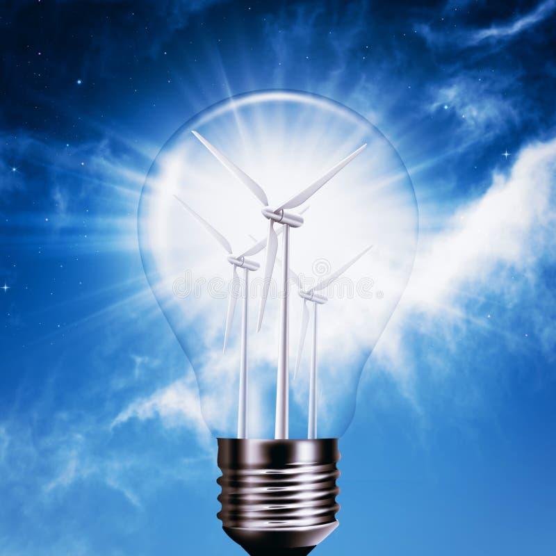 New Energy utveckling. royaltyfri bild