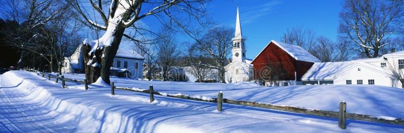 New England arkivfoto