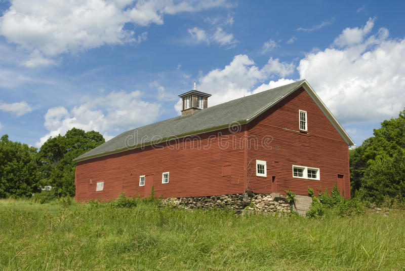 New England Barn Royalty Free Stock Photography