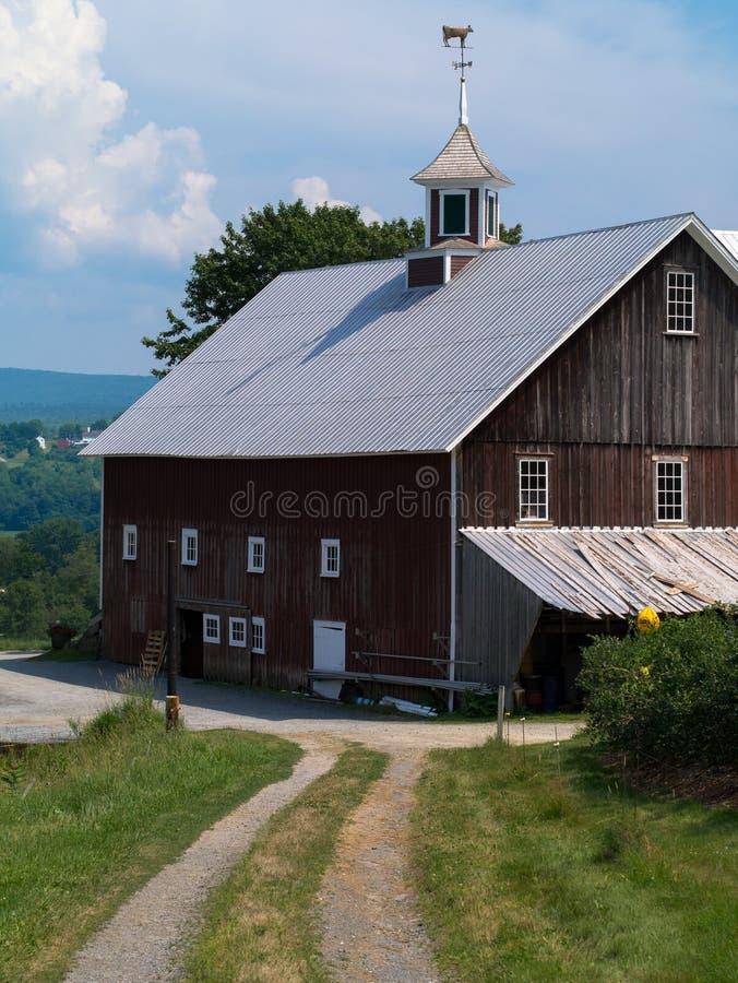 New England Barn stock image