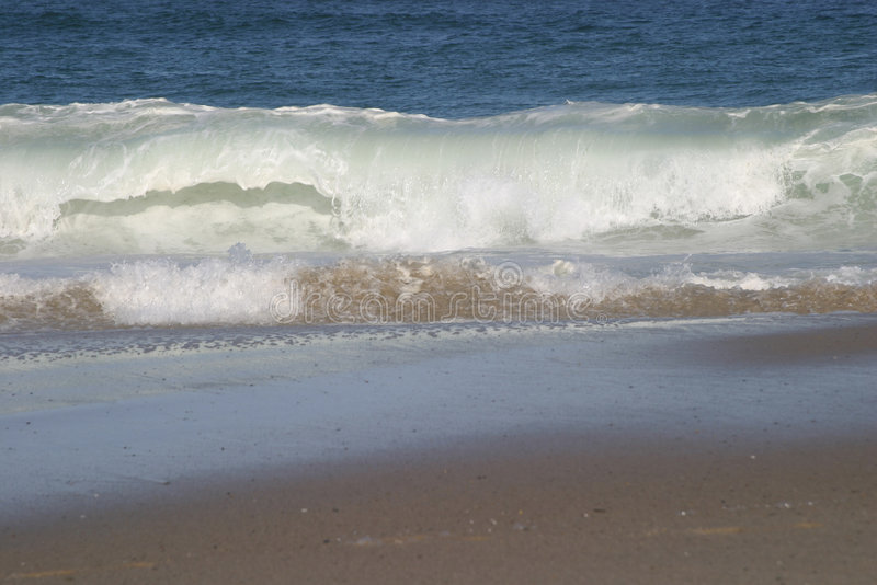 New England Beach 5 stock images