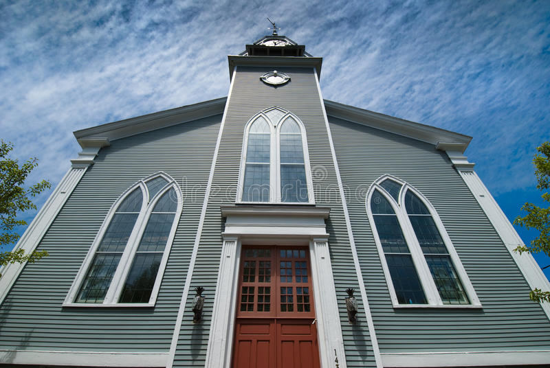 Download New England Church Stock Image - Image: 19880501